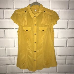 Maeve Anthropologie Solid Top Small 100% Silk